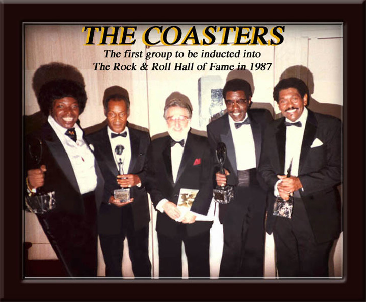 COASTERS R&R Hall of Fame 1987