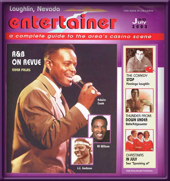 Laughlin Entertainer Cover